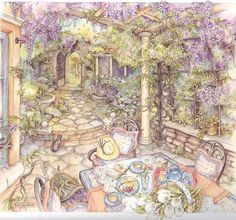 Kim Jacobs Wisteria Arbor