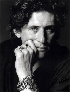 Gabriel Byrne  He sizzles, for unlike the little boy toys, he knows how to be a gentleman, when being good and bad!