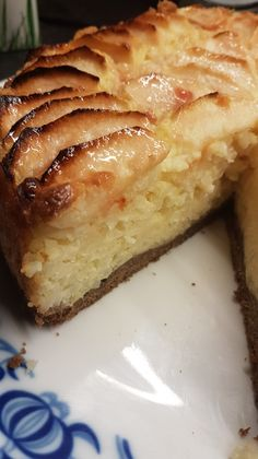 Rijsttaart met appel – Ingridzijkookt Gourmet Desserts, Best Dessert Recipes, No Bake Desserts, Sweet Recipes, Dutch Recipes, Baking Recipes, Cake Cookies, Cupcake Cakes, Fruit Cakes