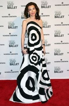 Fe Fendi wears Lie Sang Bong to the New York City Ballet 2014 Spring Gala.