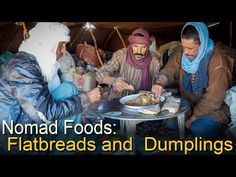 Nomad Flatbreads - Bread from Banana Leaves + The Thinnest Bread on Earth (New Version) Sources Of Carbohydrates, Banana Leaves, Pasta, Bread, Documentary, Youtube, Mini, Brot