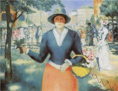 Flowergirl  - Kazimir Malevich.  Art Experience NYC  www.artexperiencenyc.com/social_login/?utm_source=pinterest_medium=pins_content=pinterest_pins_campaign=pinterest_initial