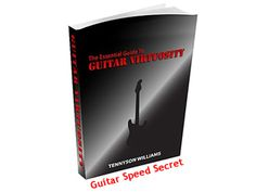 Guitar Speed Secret. I've been playing for about 11 years now. When I first got started I wasn't too bad, but the problem was that I was spending upwards of 12 hours a day practicing cluelessly. The reason that I was able to deliver on that night of the party was because of several hard years or practice and what I learned during that time. I'm going to talk about some of what I learned starting now, so grab a note book and get ready!