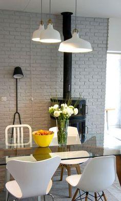 On aime : la fraîcheur du blanc et ce style scandinave ... intemporels.