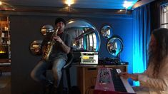 """Jim Rolland known as """"Jimmy Sax"""" is an incredible saxophonist and entertainer whom specializes within the freestyle house, deep, funk and electro music genre. Saturday Live, Electro Music, Live Band, Panama City Panama, All Over The World, My Music, Switzerland, The Incredibles, Entertaining"""