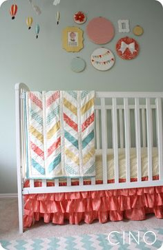 Love the quilt and the color combo!
