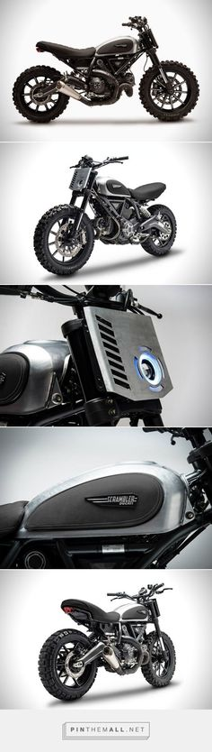 Ducati Motorcycle - Ducati Scrambler Dirt Tracker | HiConsumption - created via pinthemall.net