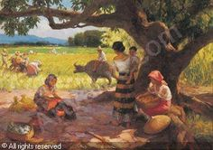 Ladies in the mango field