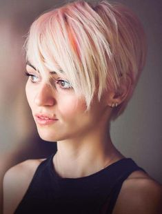 42 Best Pastel Pink Colors for Short Pixie Haircuts in 2018. Wanna get unique hair colors for pixie haircuts? There are a lot of options that you may use to wear but see here the stunning ideas of pastel pink hair colors that are most suitable options for ladies to apply with short pixie haircuts in 2018. This style has proved that it is one of the best ever colors for ladies to wear with pixie hair looks.