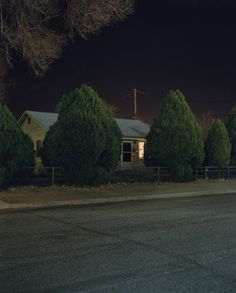 Todd Hido houses at night