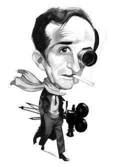 Portraits - Caricatures by Fernando Vicente, via Behance
