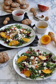 Best Italian Recipes, Favorite Recipes, Salad Recipes, Vegan Recipes, A Food, Food And Drink, Food Porn, Veggies, Tasty