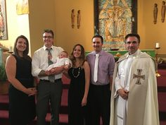 (95) James Nicholas Kirchner. Baptized June 12, 2016 at St. Joseph church East Bristol WI. Parents: Bryan and Lily.