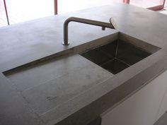Betonarbeitsplatte Penallo von www.arrangio.de #betonarbeitsplatte ...