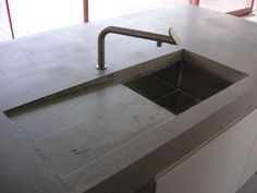 betonarbeitsplatte penallo von betonarbeitsplatte betonk chenplatte. Black Bedroom Furniture Sets. Home Design Ideas