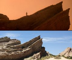 Vasquez Rocks is the location used in hundreds of films. In 1986 movie Star Trek IV: The Voyage Home it played the Vulcan planet.