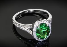 How beautiful is this emerald?!