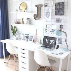 | Especial home office duplo. | . . . . . . . #designinteriores #estiloescandinavo #decoração #decoraçãointeriores #arquitetos #arquiteturainteriores #arquitetura #minimalismo #minimalist #minimalistdesign #design #designerdeinteriores #scandinavianstyle #whitedecoration #scandistyle #nordicstyleinspiration #nordicstyle #minimalista #cozinhaplanejada #nordicstyling #scandihome #cozinha #estilonordico #lessismore #menosemais #cleanliving #decoraçãoclean #homeoffice #casavogue #casaclaudia