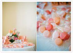Macarons pour invités