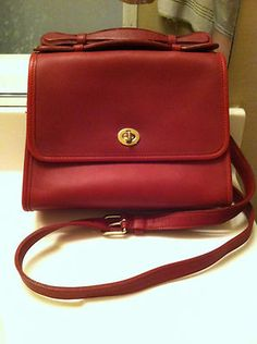 RED Coach court bag, $99.99