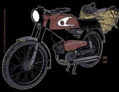 It's not a design of a Motorbike ....