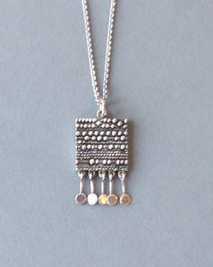 Jorma Laine Kinetic Silver Necklace