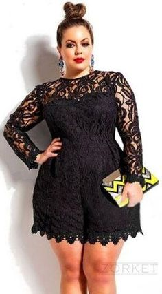 #Laace #Romper With Long Sleeve_______Plus Size________5% OFF Coupon Code: PNTRST05_________Zorket Provides Only Top Quality Products for Reasonable Prices + FREE SHIPPING Worldwide_________