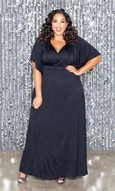 Plus size Empire Waist Dress for Women