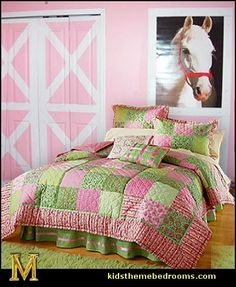Equesrian Theme Bedroom Decorating Ideas Maries Manor Girls Theme Bedrooms