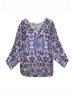 Ikat Dolly Tee    Modern, Bohemian, Gypset, Glam, Resortwear, Luxurious, Travel   rhoderesort.com