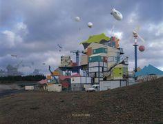 Alain Bublex, Plug-in City (2000) – Learn French Now!, 2010. Epreuve chromogène laminée diasec sur aluminium, 180 x 235 cm © Alain Bublex, c...