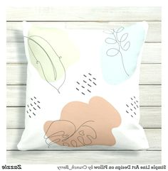 Simple Line Art Design on Pillow Pillow Drawing, Line Art Design, Best Pillow, Simple Lines, Throw Pillows, Drawings, Toss Pillows, Decorative Pillows, Sketches