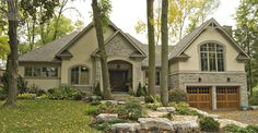 David Small Designs is an award winning custom home design firm. See a portfolio of our Tall Trees project Custom Home Designs, Custom Built Homes, Small House Design, Looks Cool, Design Firms, Home Builders, My Dream Home, Curb Appeal, Building A House