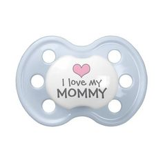 Custom Baby Pacifier in Pink ($17) ❤ liked on Polyvore featuring baby, baby stuff, kids, accessories and baby boy