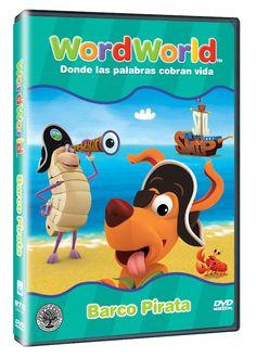 Diseño publicitario de DVD's - Stop Diseño Gráfico - Diseño de Barco Pirata - Word World.