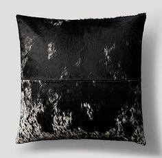 RH Modern Dappled Cowhide Pillow Cover - 22 x 22 - Reg 199.00, clearance 95.00 plus S/H
