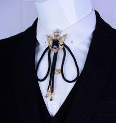 c6b3c2967674 Angel wings Brooch Mens suit collar crystal metal wings chain ...
