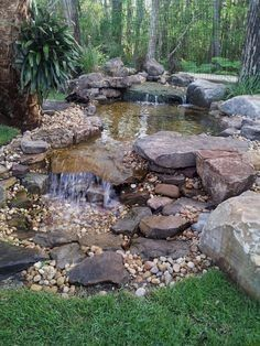 Water is a power that helps to relax, and sounds of falling water create real harmony. We've already told you how to make your garden cuter with the help of a pond. But a pond may become even more…MoreMore #LandscapingIdeas