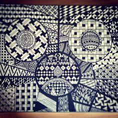 zentangle artwork nr 2