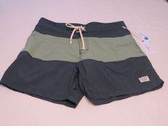 Modern Amusement board shorts swim surf trunks 32 CROW RARE Men's green #ModernAmusement #BoardSurf