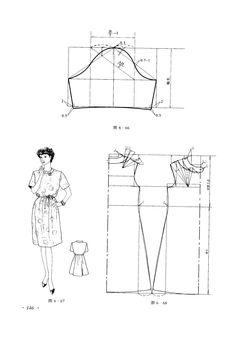 simple dress #sewing #patternmaking