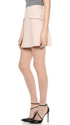alice + olivia Tabby High Waisted Skirt