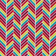 Keepsake Calico Fabric- Geometric Chevron