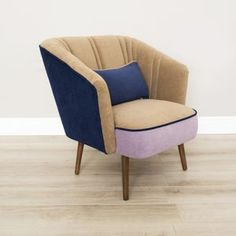 Liezel Mid Century Upcycled Armchair - what's new