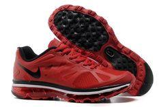 Nike Air Max 2012 (Men's) UK Red-Black