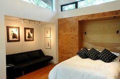 Cork on wall - window light - white walls