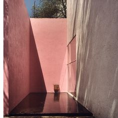 The Work of Mexican Architect Luis Barragán - Beautiful Colour, Form, Composition + Proportion.