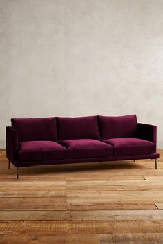 Slide View: 1: Velvet Linde Sofa