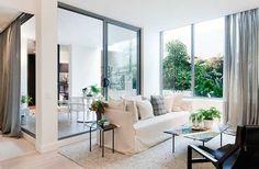 HECKER GUTHRIE INTERIOR DESIGNERS : PROJECTS : glass windows