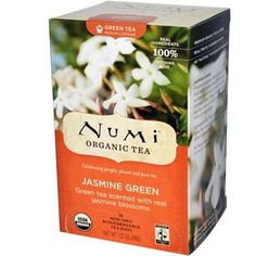 Numi Tea 6X 18 Bag Jasmine Mkn Green Tea This Light And Fragrant Green Tea Is Scented With Delicate Jasmine Flowers That Impart A Floral Sweetness To The Tea.: (Note: This Product Description Is Informational Only. Always Check The Actual Product Label In Your Possession For The Most Accurate Ingredient Information Before Use. For Any Health Or Dietary Related Matter Always Consult Your Doctor Before Use.)